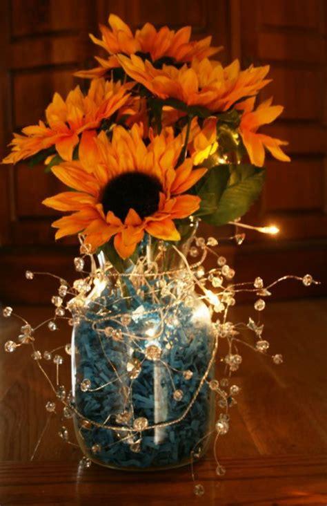 best 25 sunflower wedding centerpieces ideas on