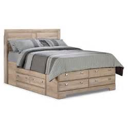 bed storage yorkdale light queen storage bed the brick