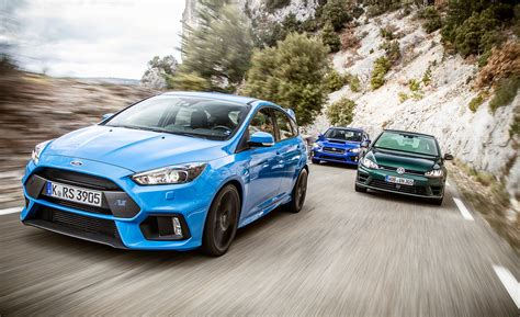 subaru ford gt 2016 ford focus rs vs 2015 subaru wrx sti 2016