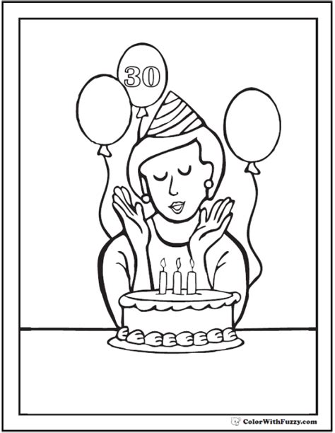 happy birthday coloring pages pdf 55 birthday coloring pages customizable pdf