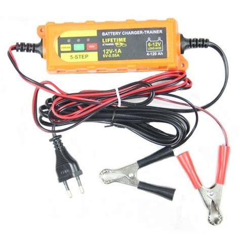 alimentatore batteria moto caricabatterie mantenitore batteria auto e moto portatile