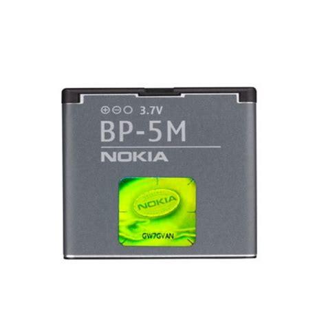 Batterai Batre Battery Batteray Nokia Bp 5m Ori 99 Mantaps nokia bp 5m original battery 5610 6500 slide 8600 li ion 900mah m s blister