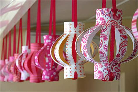 How To Make Beautiful Paper Lanterns - diy paper lanterns