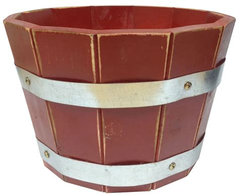 Barrel Planters Uk by Acacia Barrel Planter In 26x17 5cm 2 For 163 20 163 12 99