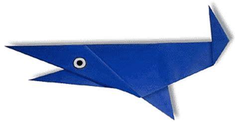 Easy Origami Shark - shark easy origami for