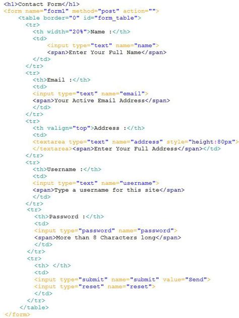 html untuk membuat form membuat effect pop up pada form
