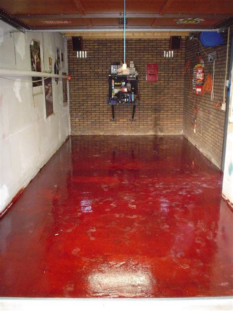 red floor paint epoxy garage floor red epoxy garage floor