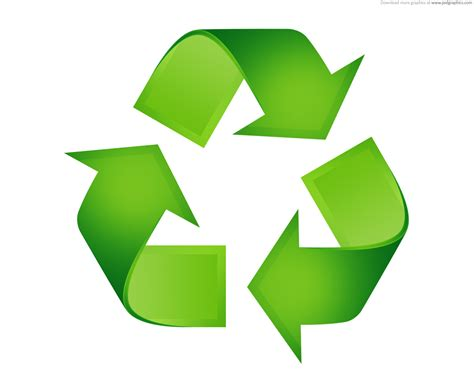 of recycle green recycling symbols psdgraphics