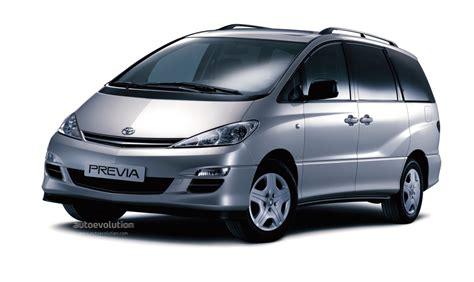 Previa Toyota Toyota Previa 2003 2004 2005 Autoevolution