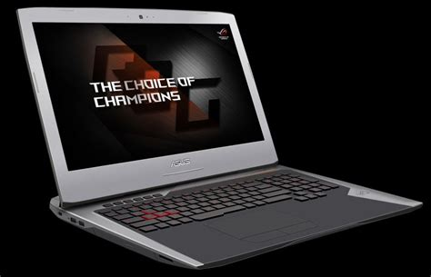 Laptop Asus Rog G752vs asus rog g752vs gtx 1070 and g752vm gtx 1060 gaming laptops announced geeks3d