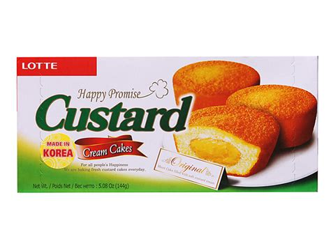 Cus Store Gift Card - lotte happy promise custard cake