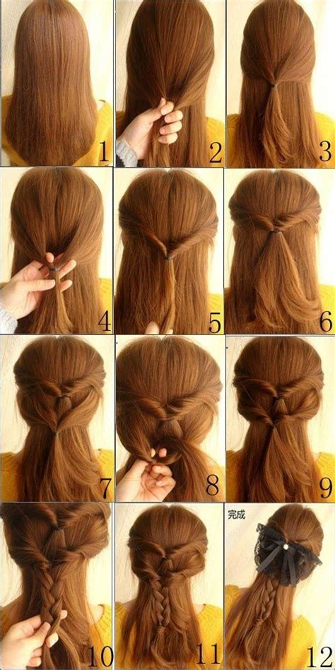 easy braids to do on yourself easy braided hairstyles to do yourself for my daughter