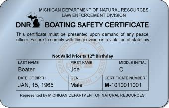 michigan boating safety certificate get your michigan boating license online boaterexam 174