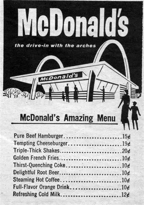 You Deserve a Break Today: 1960s-1980s McDonald's History
