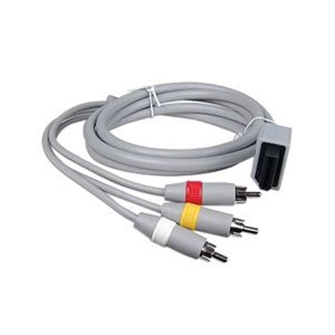 Wii Av Cable By Onejersey av cable nintendo wii co uk electronics