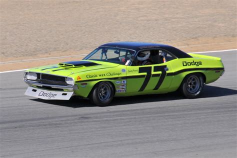 77 dodge challenger no 77 ken epsman 1970 dodge challenger driven by sam