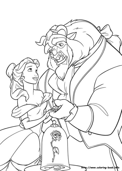 and the beast coloring pages and the beast coloring picture