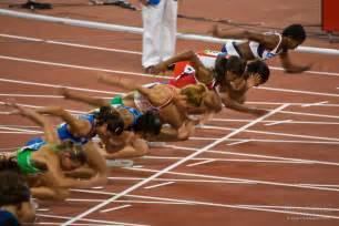 Speed sprint sprinter sprinters stadium start strength track venue