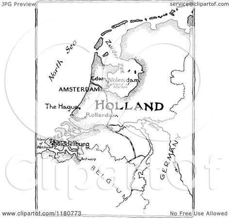 netherlands map black and white image gallery clip