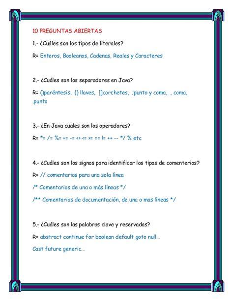 preguntas abiertas hot preguntas para programacion