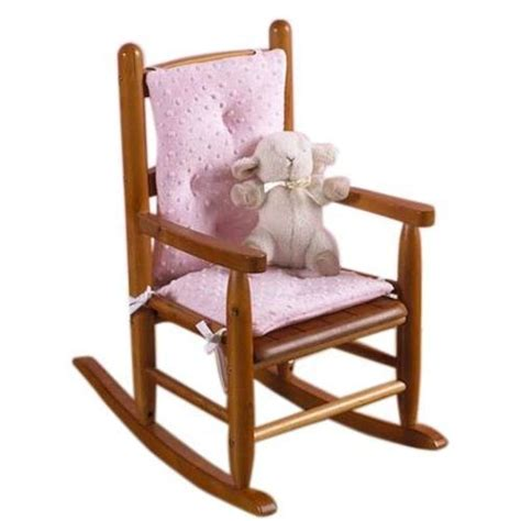 kid rocking chair cushions baby doll bedding heavenly soft child rocking chair