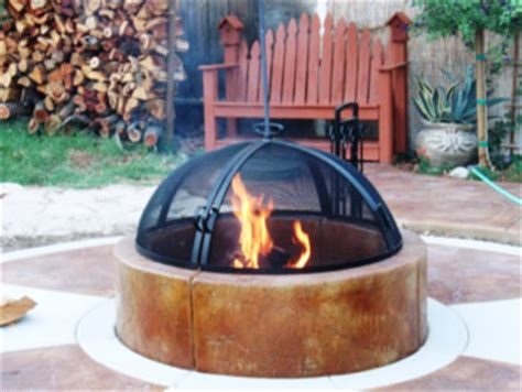 Can You Put A Chiminea On Decking Pits Pictures