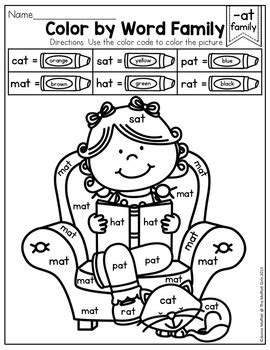 word family coloring page word family grafitie coloring pages