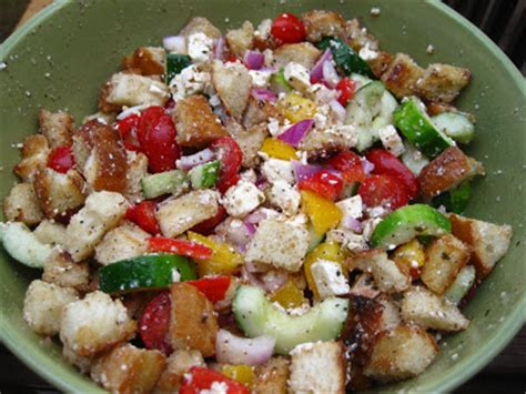 panzanella salad barefoot contessa haute home cooking greek panzanella