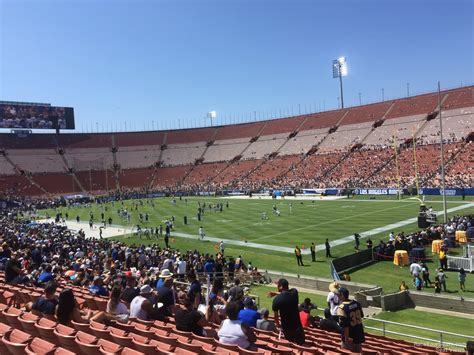 section three los angeles memorial coliseum section 3 rateyourseats com
