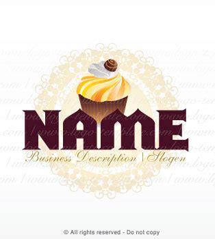 pin logo templates cupcake bakery logos 1403 template pre