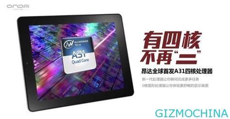 Tablet Cina onda v972 tablet cina dengan processor allwinner dan retina style display berita