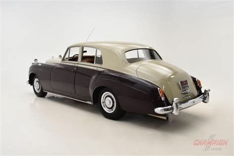 bentley maroon 1955 bentley s1 74 683 maroon beige sedan 4 9 liter
