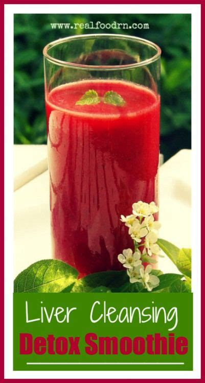 Real Liver Detox by Liver Cleansing Detox Smoothie Elixirz