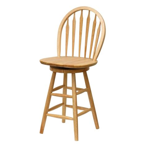 Wood Kitchen Stool by Shop Winsome Wood 24 In Counter Stool At Lowes