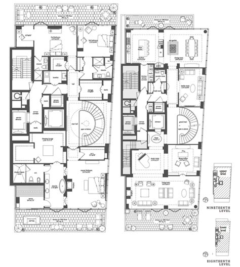 floor plans toronto what a 12 8 million toronto condo looks like