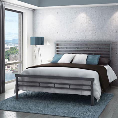 modern metal beds canada amisco highway modern metal bed magnetite beds