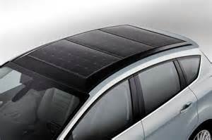 Electric Car Conversion Solar Panels Ford C Max Solar Energi Concept Using The Sun To Charge