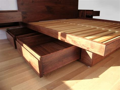 build platform bed with drawers wonder discover woodworking projects