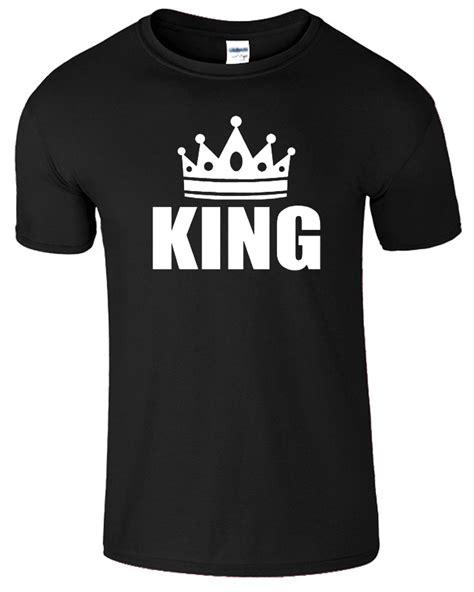 Is King Tshirt king and t shirt mens womens crown logo