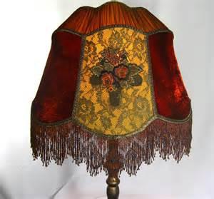Handmade Light Shade - l shade handmade custom silk velvet by judisls