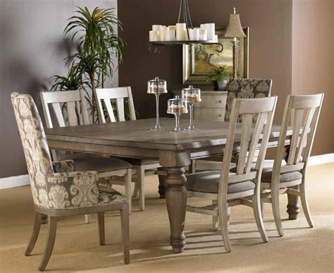 Grey Dining Room Furniture Dining Table Grey Finish Dining Table