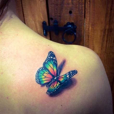 colorful butterfly tattoo designs best 25 3d butterfly ideas on
