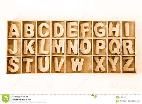 Capital Set capital wooden block letter abc alphabet set in a wood box