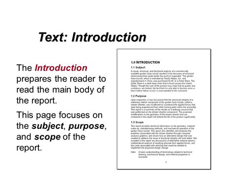 book report introduction sle introduction of project report sle 28 images report