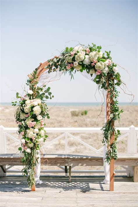 Wedding Arch With Flowers by Unique Wedding Arch Inspiration Floral Canopy