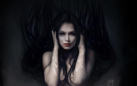 wallpaper zoom girl the fantasy girl in the dark wallpaper 1920x1200