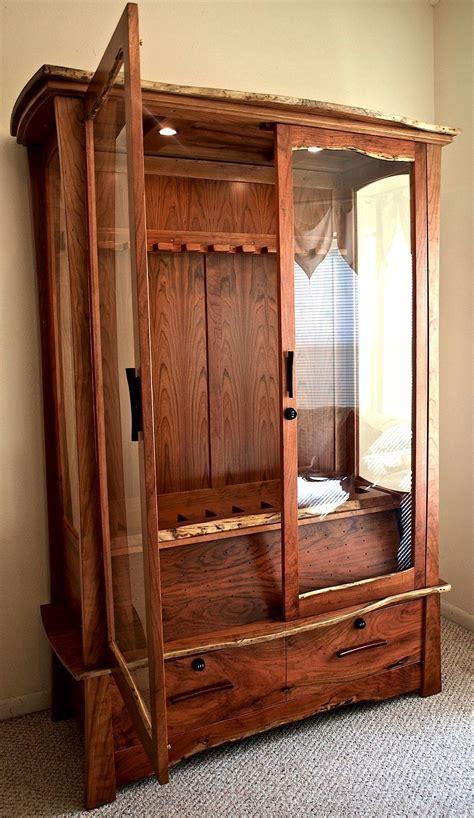 Dresser Gun Cabinet by Octagon Gun Cabinet Plans Free Dresser Grow Box