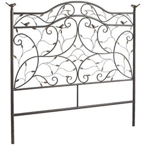 pier one wrought iron headboard pier one perched bird queen headboard pier 1 imports