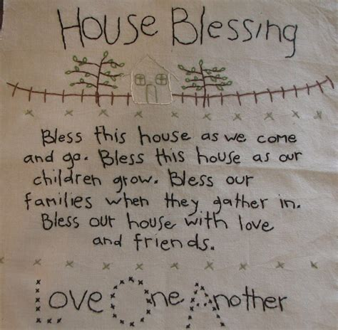 house blessing for the home