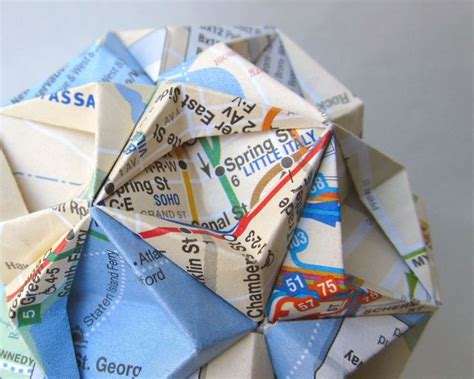 Map Origami Paper - 17 best images about maps on origami paper